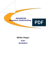 White Paper on Advanced Insurance Underwriting