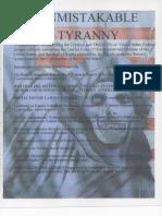 Unmistakable Tyranny 2007