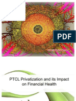 PTCL Privatization and its Impact on Financial Health