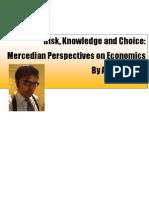 Risk Knowledge Choice by Alex Merced