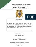 Universidad Nacional Mayor de San Marcos Tesis x Terminar