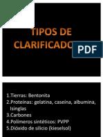 AGENTES CLARIFICANTES