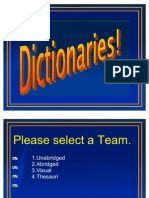 Dictionary Jeopardy