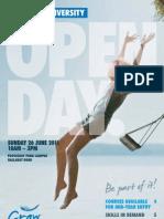 Victoria University Open Day Program 2011