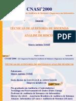 Tecnicas Auditoria Sistemas y Analisis de Riesgos