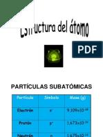 8. Estructura atómica octavo