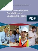 2010 NTPS Capabilities and Leadership Framework