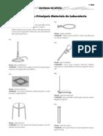 Lista Materiais de Laboratório