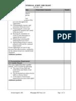 Iso 9001 Internal Audit Checklist [EDocFind.com][1]