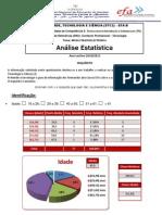 Questionário EFA B (Grupo Raimundo) - Análise Estatística