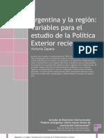 Argentina y La Region