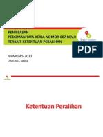 PTK007 Revisi II Peralihan