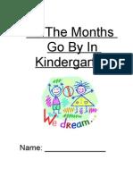 The Months of Kindergarten