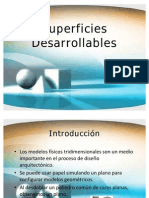 Superficies Desarrollables