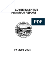 Incentive Report