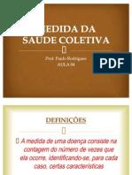 AULA 5 MEDIDA DA SAÚDE COLETIVA
