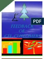 Feedback of CFL Customers
