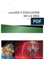 Origen y Evolucion de La Vida 5