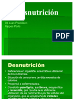 Desnutricion pediatria