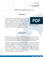 Oportunidades de Negocio en Chile 2011