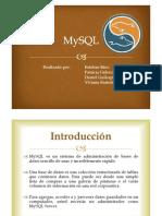MySQL Diapositivas