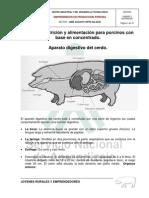 Curso de Porcicultura-unidad 3