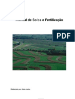 Manual Solo e Fertilizantes