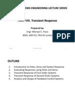 PART VIII. Transient Response