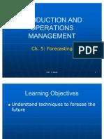 5 Forecasting