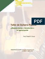 Taller de Guitarra Popular
