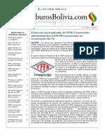 Hidrocarburos Bolivia Informe Semanal Del 13 Al 19 Junio 2011