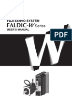 Fuji Faldic-w User Manual