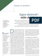 Signe Distinctif Male Dominant