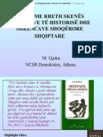 Mendime Rreth Skenes Konfrontive Te Historise Dhe Shkencave Shoqerore Shqiptare-Konferenca e Trete Panhimarjote-presentation