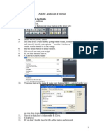 Adobe Audition Tutorial