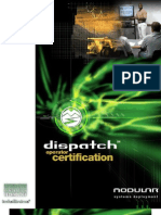 Dispatch Certification