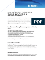 NDT Training Document