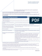 UK VISA Supporting Documents Requirement