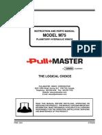 Model m75 Service Manual