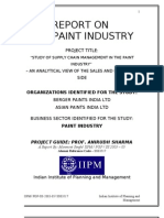 mba paint industry analysis