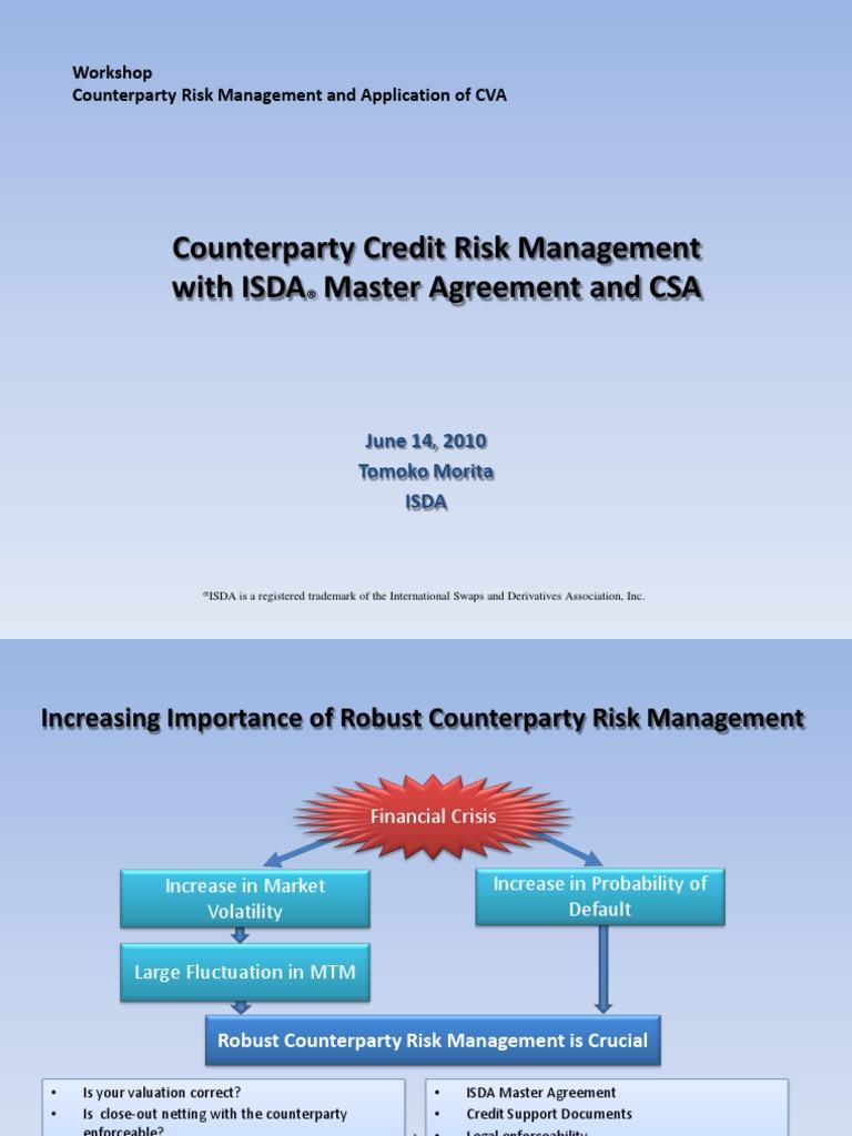 Isda Presentation Mark To Market Accounting Derivative Finance