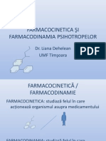 farrmacocinetica psihotropelor