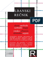 ALBANSKO SRPSKI REČNIK