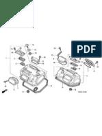 Honda Transalp XL600V 00-.. Microfichas