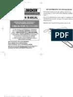 Motosierra Electrica Black Decker 374860-05,LH1600