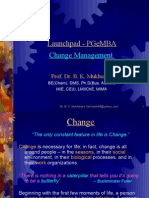 Change Mgmt Launchpad)