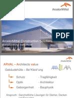 AM ARVAL Bautech Vortrag 2011