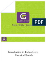 Introduction to Indian Navy Electrical Branch