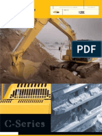 John Deere 120C Excavator Specs