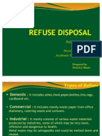 Refuse Disposal